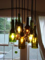 photo of wine bottle chandeliers how to make a chandelier from old