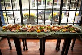 Brunch Setup Kamayan Feast Sunda Chicago