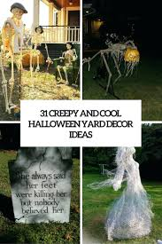 Homemade Halloween Decorations For Outside Astounding Halloween Yard Decorations To Make Photos Best
