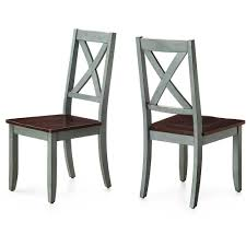 Dinette Chairs by Better Homes And Gardens Maddox Crossing Dining Chair Blue Set