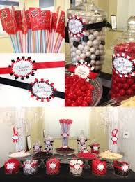 Black And White Candy Buffet Ideas the red white and black candies for candy bar at the wedding