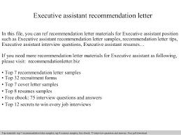 executive assistant recommendation letter 1 638 jpg cb u003d1409083587