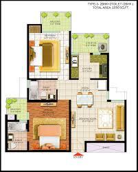 floor plans of bharat city indraprastha yojana 9015523000