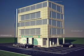 free home addition design tool 3d front elevation com corner commercial plaza u0026 offices shops