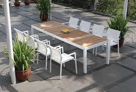 Modern Outdoor Dining Set by Mama Green Outdoor Furniture