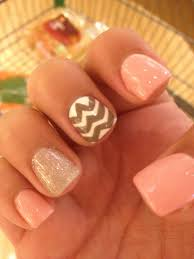 super easy chevron stripe nail design hair and nails and makeup
