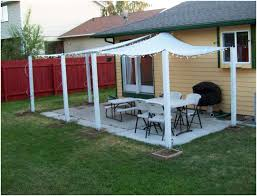 backyards modern building a structural awning sail shades