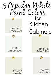 what color white to paint kitchen cabinets white paint colors for kitchen cabinets