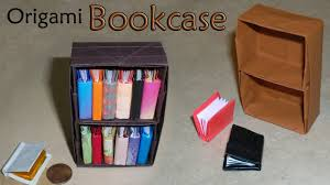 How To Build A Bookcase With Doors by Origami Bookcase Youtube