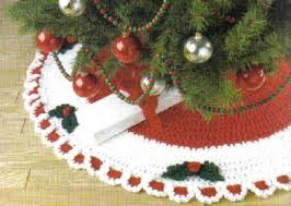 free crochet patterns free crochet tree skirt patterns