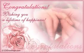 congratulate engagement a lifetime of happiness free engagement ecards greeting cards