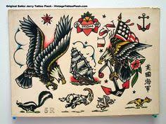 sailor jerry eagle tattoos traditional eagle traditional