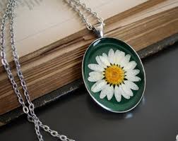flower necklace etsy images White daisy necklace etsy jpg