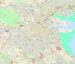 Dublin Ireland Map Dublin Maps Ireland Maps Of Dublin