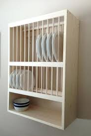 Kitchen Dish Rack Ideas Cabinet Dish Drainer Stainless Steel Dish Rack Wall Rack