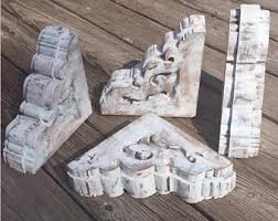 Unfinished Wood Corbels Wooden Corbel Etsy