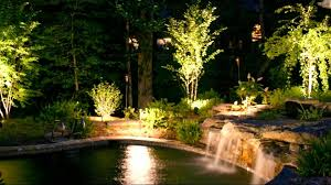 Led Landscape Lighting Low Voltage by Stunning Outdoor Lighting Ideas Youtube
