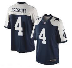 Cowboys Jersey Thanksgiving Men U0027s Dallas Cowboys 4 Dak Prescott White Thanksgiving Alternate