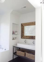 Industrial Bathroom Mirror by Long Industrial Vanity Mirror Design Ideas