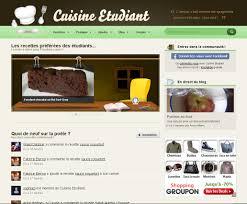 cuisiner 騁udiant cuisine étudiant les réseaux sociaux et nous