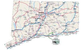 road map connecticut usa connecticut counties road map usa