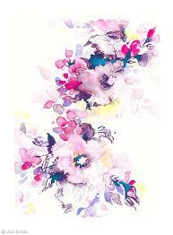 Floral Art Designs Best 25 Watercolor Flowers Ideas On Pinterest Flower Watercolor