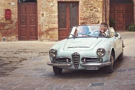 alfa romeo giulietta classic wedding in tuscany u2013 blue alfa romeo giulia