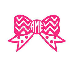bow monogram 27 images of bow monogram silhouette template kpopped