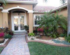 Modern Front Yard Desert Landscaping With Palm Tree And Print Of Front Yard Landscape Plans You Must See Garden And