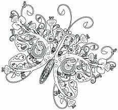 detailed butterfly coloring pages for adults coloring pages butterfly printable butterfly coloring pages adult