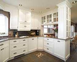 Cuisine Bois Design by White Cabinets Kitchen