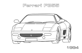 printable car coloring pages coloringstar