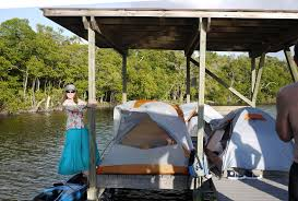 platform tent 8 day everglades kayak tour