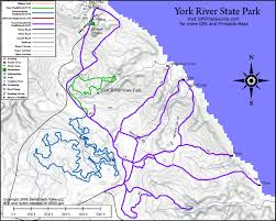 Utah State Parks Map by Virginia U0027s York River State Park