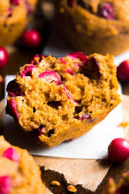 Pumpkin Cupcakes by Cranberry Pumpkin Muffins Amy U0027s Healthy Baking