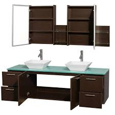 Wall Mounted Bathroom Vanity by Amare 72 Inch Wall Mounted Double Bathroom Vanity Set