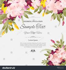 greeting for wedding card greeting card invitation wedding card abstract stock vector