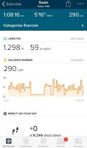 30 Feet In Meter by Swim Tracking Guide Fitbit Community