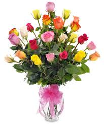 multi colored roses multi colored bouquet delivery trumbull shelton ct same
