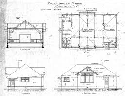 custom home blueprints building plan elevation section image with plan with section