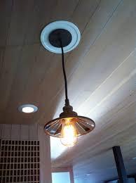 Pendant Can Light Ingenious Inspiration Ideas Convert Can Light To Pendant Home
