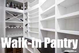 Walk In Pantry Organization My Walk In Pantry Youtube