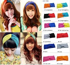 bando headbands 2015 korean boutique fashion women soft twist