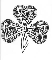 celtic knot shamrock clipart 33