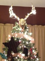 deer antler tree topper search tree toppers