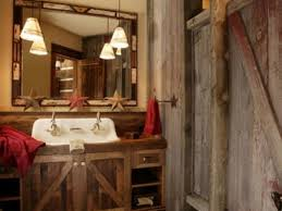 Log Cabin Bathroom Accessories by Rustic Bathroom Decor Realie Org