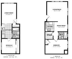One Bedroom Apartment Plans And Designs One Bedroom Apartment Floor Plans