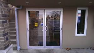 commercial exterior glass doors glasspros ca door installation