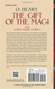 the gift of the magi and other short stories william sydney