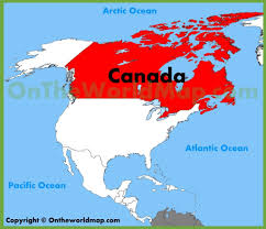 Map Of Canada And Usa by Map Of The States And Canada Allotherplacesorg North America Map